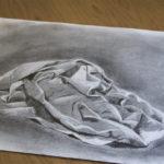 Zeichnung Graphit und Bleistift